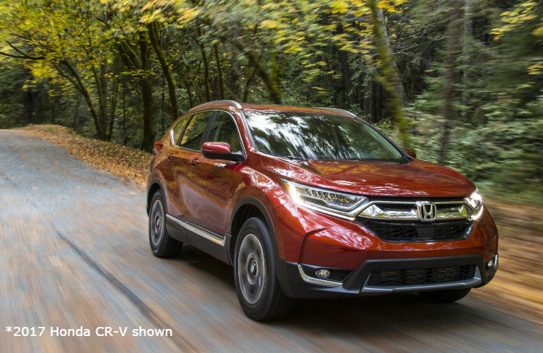 2017 honda CR-V in red