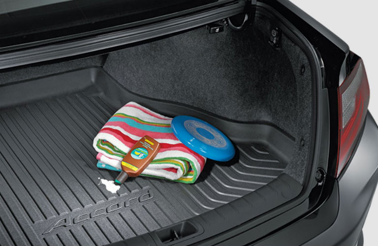 Honda Coupe trunk space