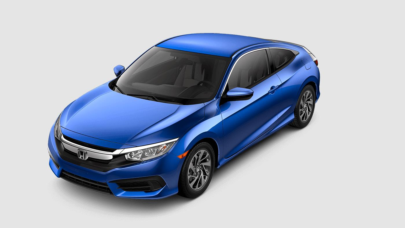 2017 Honda Civic Coupe Aegean Blue