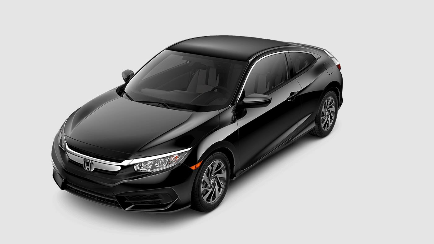 2017 Honda Civic Coupe Crystal Black