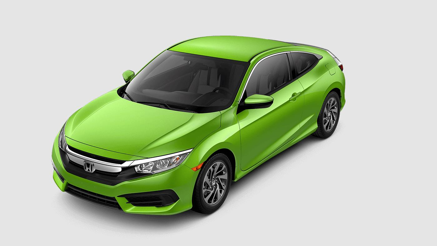2017 Honda Civic Coupe Energy Green