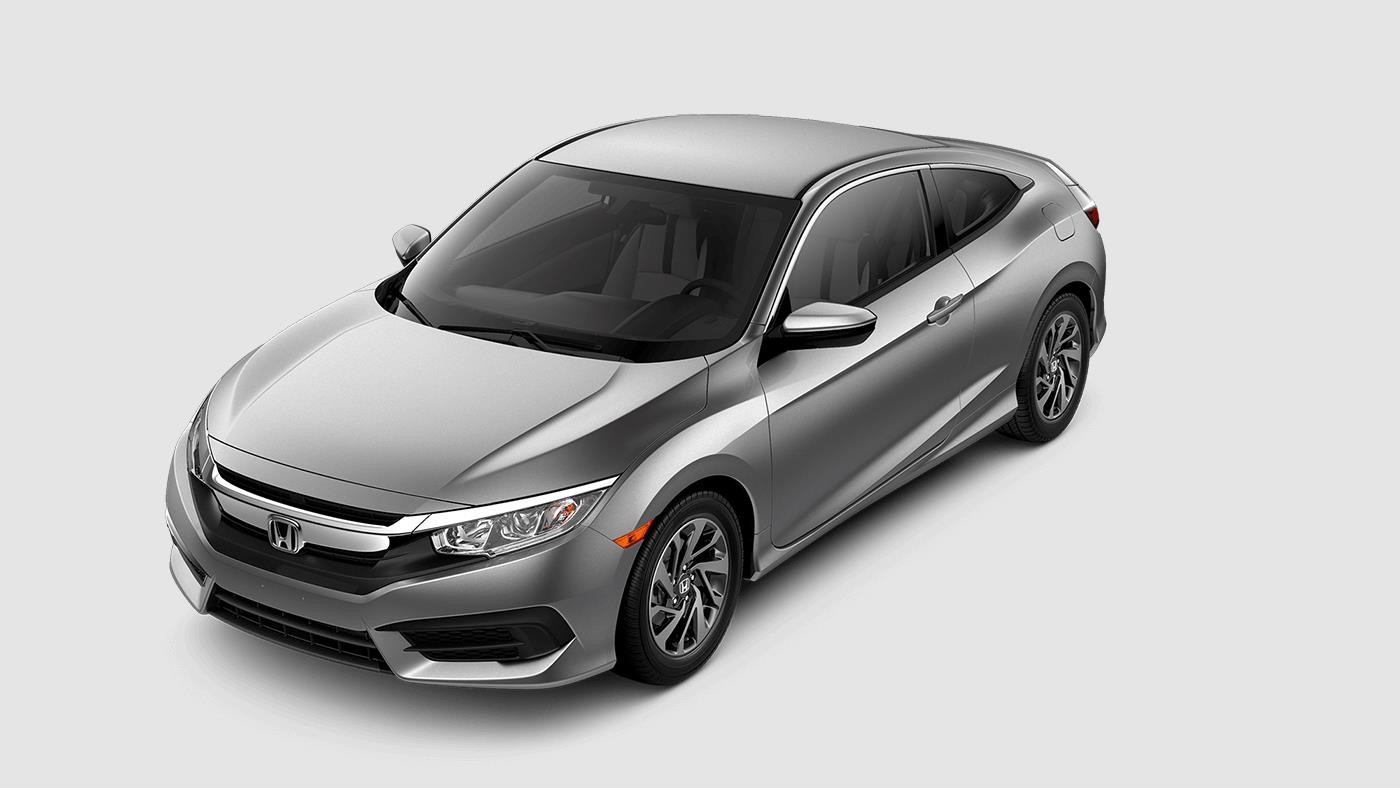 2017 Honda Civic Coupe Lunar Silver