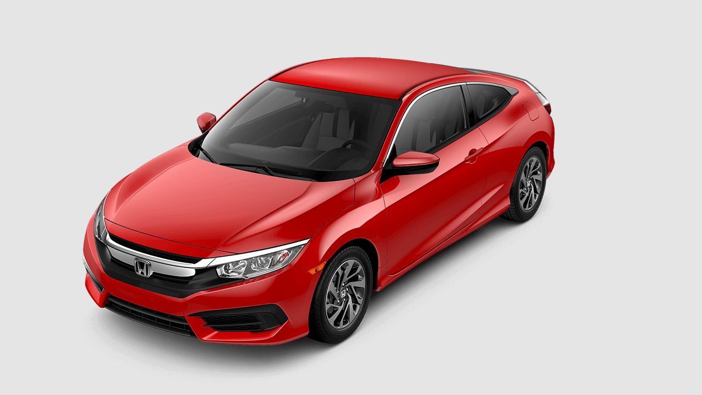2017 Honda Civic Coupe Rallye Red