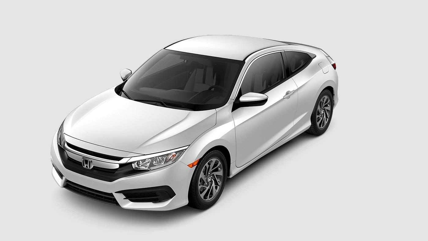 2017 Honda Civic Coupe Taffeta White