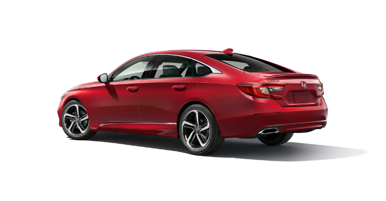 2018 Honda Accord Sport red side view