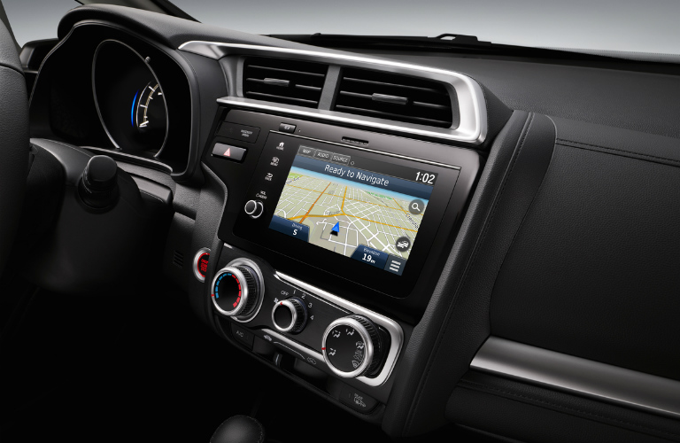 2018 Honda Fit interior with navigation