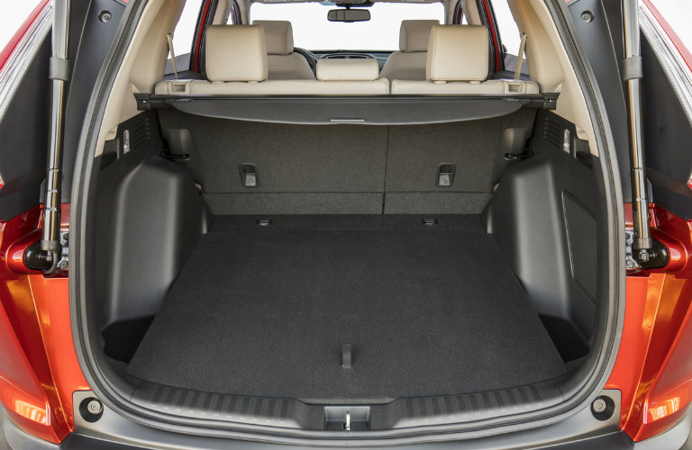 2017 Honda CR-V with 60-40 split folding rear seats up