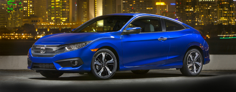 2017 Honda Civic Coupe Side View