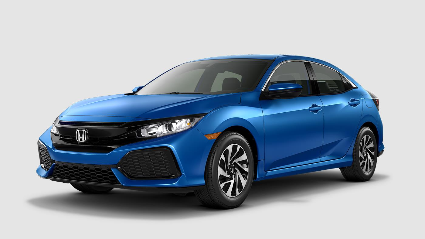 2017 Honda Civic Hatchback Aegean Blue