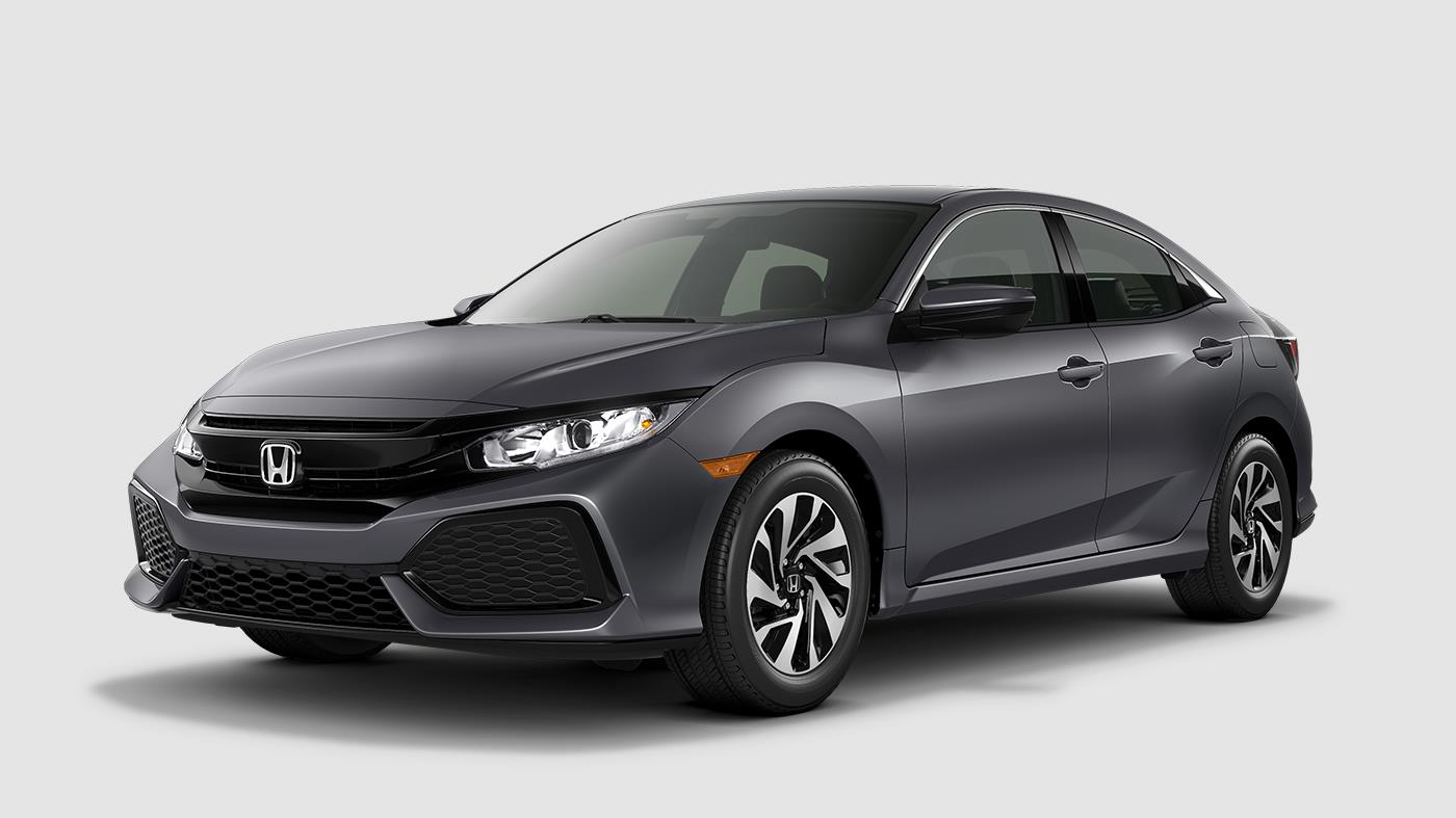 2017 Honda Civic Hatchback Polished Metal