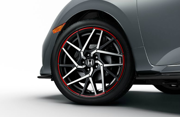 2017 Honda Civic Hatchback Sport optional rim