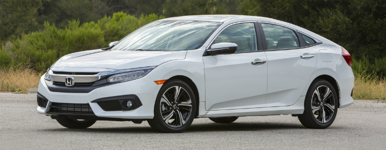 2017 Honda Civic Sedan Side View