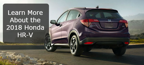 Learn More About the 2018 Honda HR-V