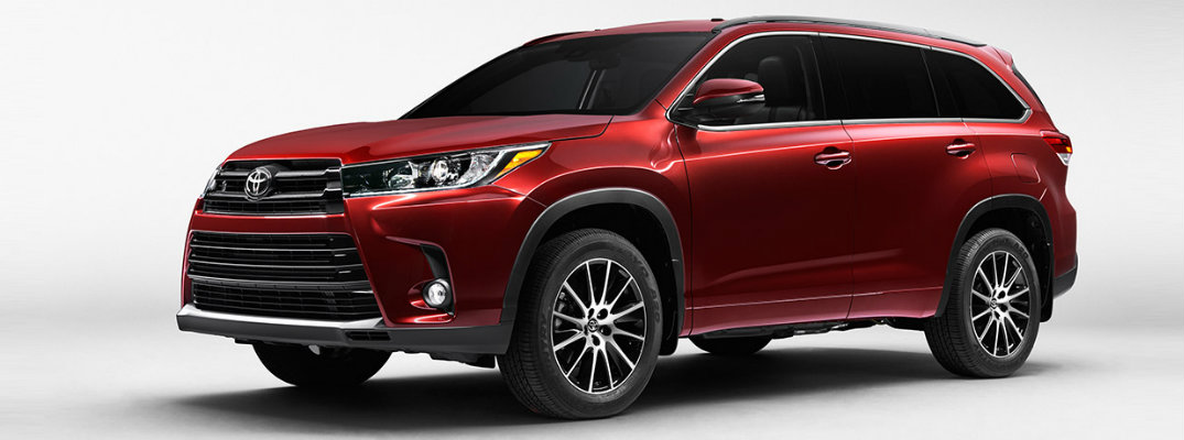 2017 toyota highlander cargo capacity. Black Bedroom Furniture Sets. Home Design Ideas