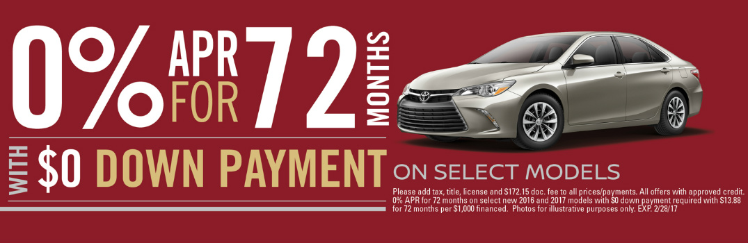 February 2017 Toyota Specials Westmont-Downers Grove IL