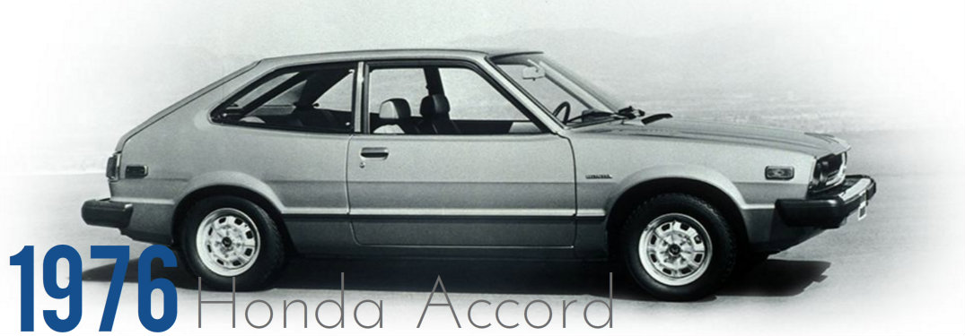 when was the first honda accord made. Black Bedroom Furniture Sets. Home Design Ideas