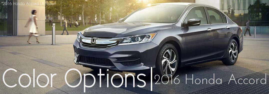 how many color options are there for the 2016 honda accord. Black Bedroom Furniture Sets. Home Design Ideas