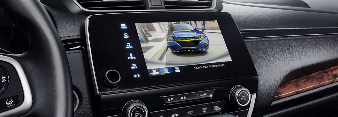 Does the 2017 Honda CR-V come with a rearview camera?