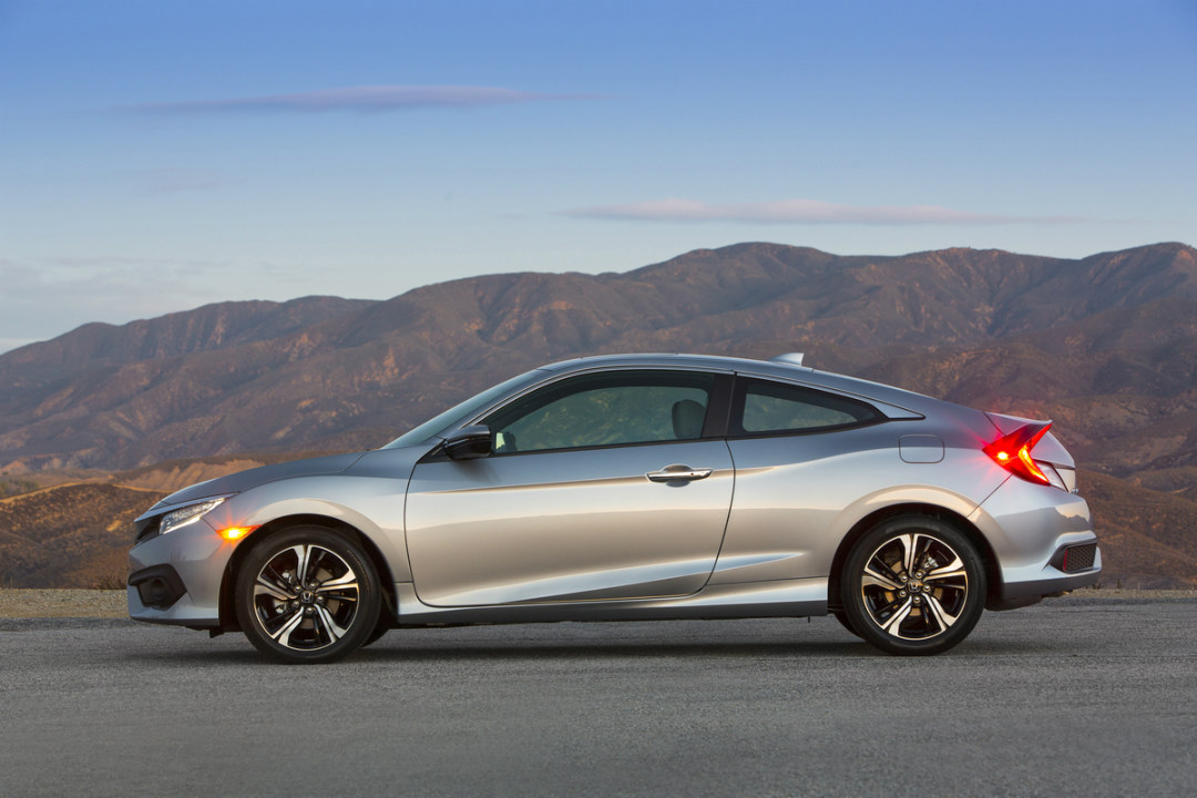 what are the available body styles for the 2017 honda civic