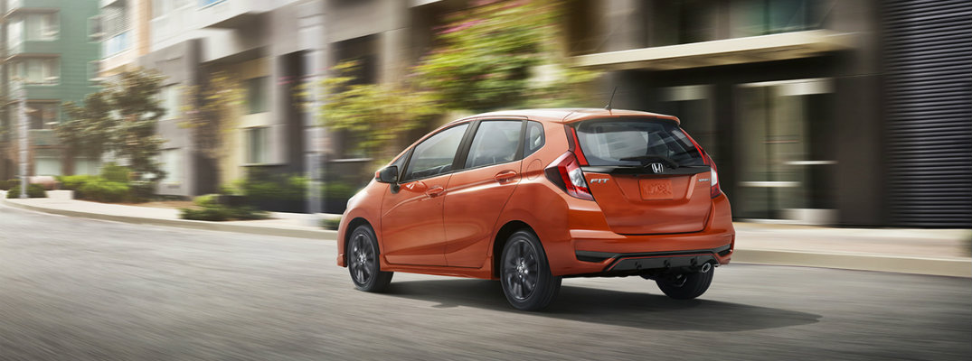 2018 Honda Fit Sport features