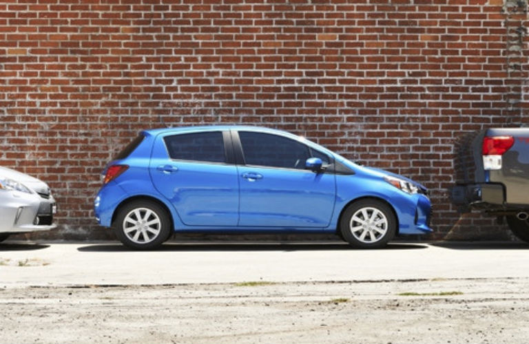 how much cargo space does the toyota yaris have rohrman toyota. Black Bedroom Furniture Sets. Home Design Ideas