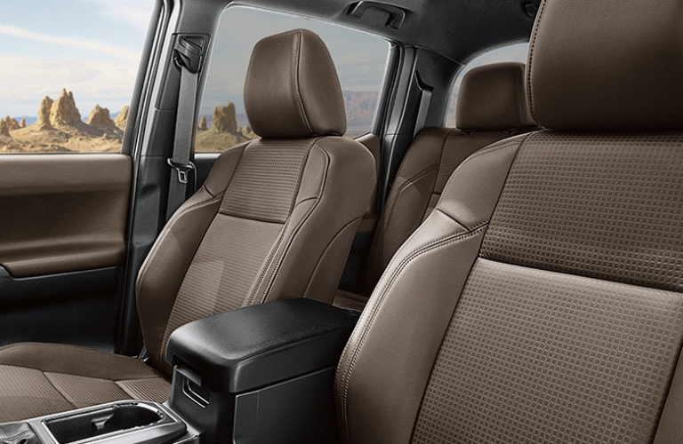 Does the Toyota Tacoma come with leather seats