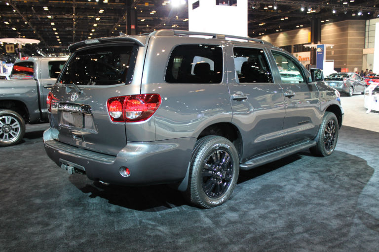 2018 toyota sequoia suv chicago debut release date and specs. Black Bedroom Furniture Sets. Home Design Ideas