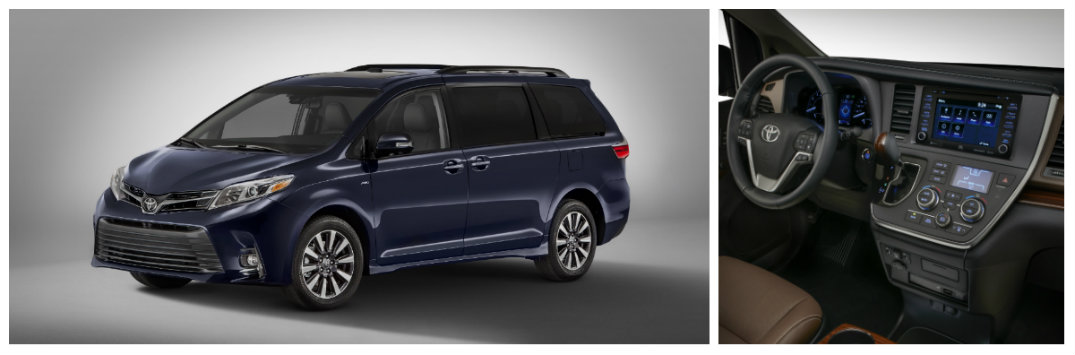 2018 Toyota Sienna minivan 2017 New York Auto Show debut specs and features