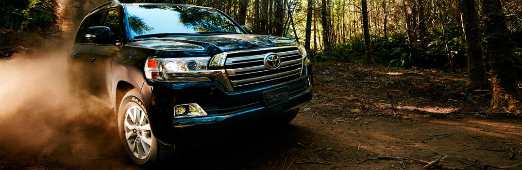 2017 Toyota Land Cruiser SUV color options and performance features