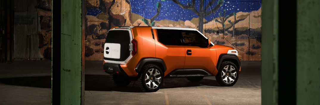 2017 Toyota FT-4X concept crossover for Millennials Casualcore