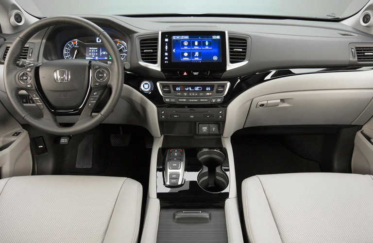 2016 honda pilot interior and technology features and benefits for Acura mdx vs honda pilot