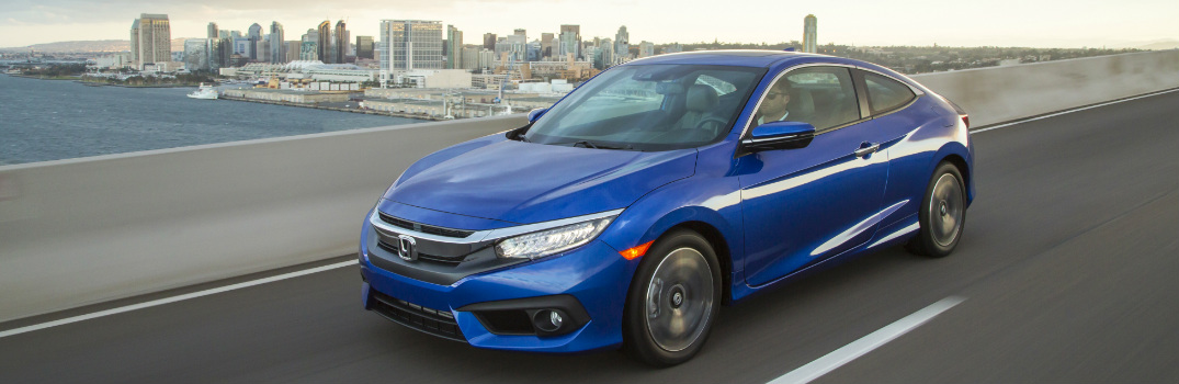 2016 honda civic coupe named iihs top safety pick for Honda civic safety