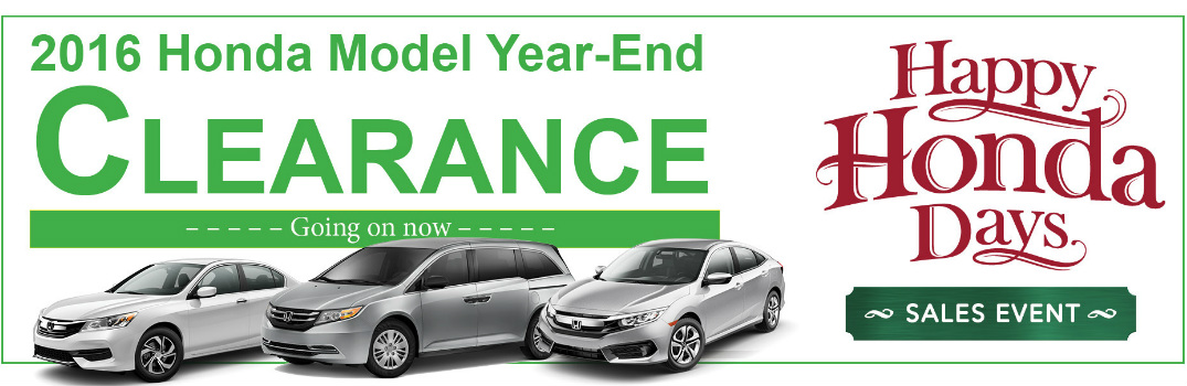 2016 happy honda days december specials schaumburg il for Schaumburg honda service hours