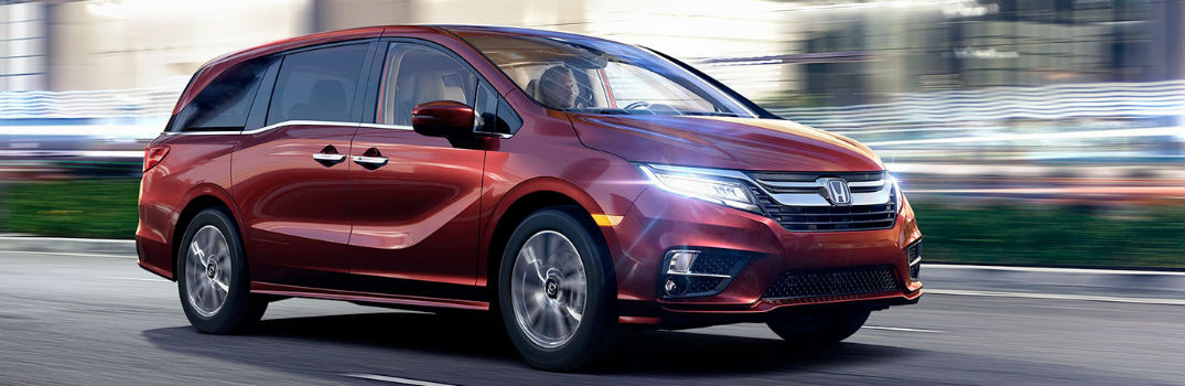 Safety Features in the 2018 Honda Odyssey