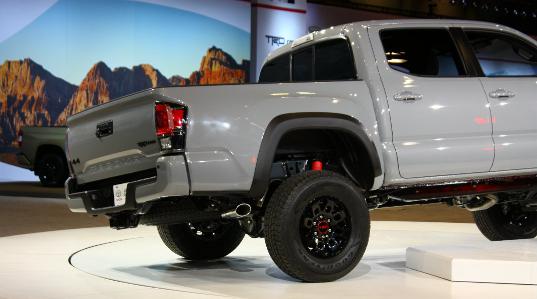 2016 Toyota Tacoma TRD Pro Cargo Bed 2016 Chicago Auto Show Debut