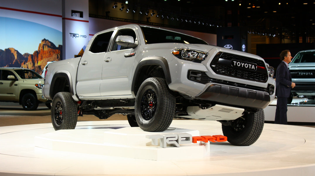 2017 Toyota Tacoma TRD Pro Debut Chicago Auto Show Front End