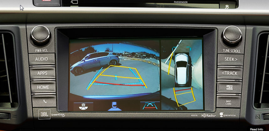 How To Use Toyota S Bird S Eye View Camera
