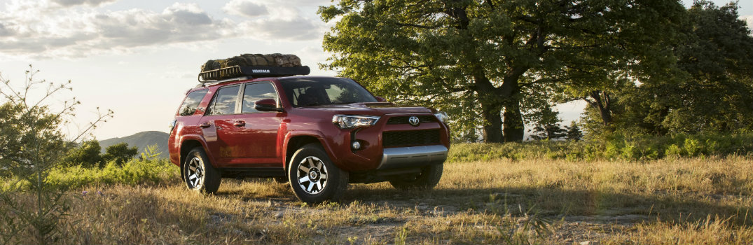 2017 Toyota 4Runner Recommended Tire Pressure