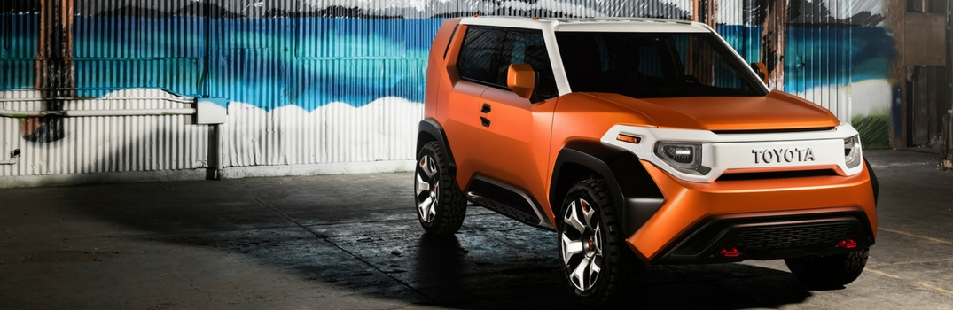 Toyota Debuts the Toyota FT-4X Concept at the New York Auto Show