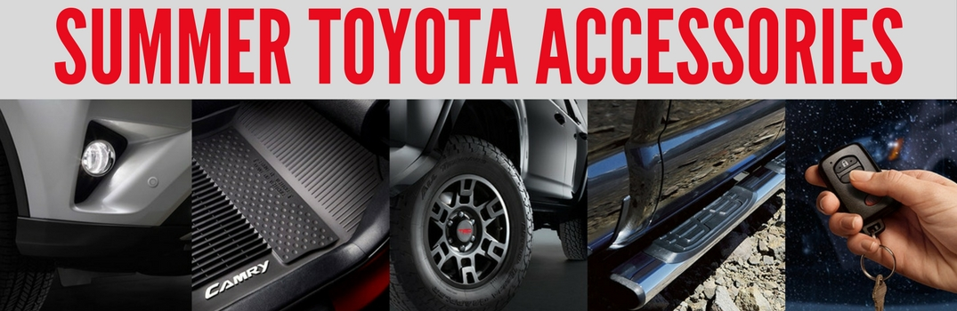 What Are the Best Toyota Vehicle Accessories for Summer?