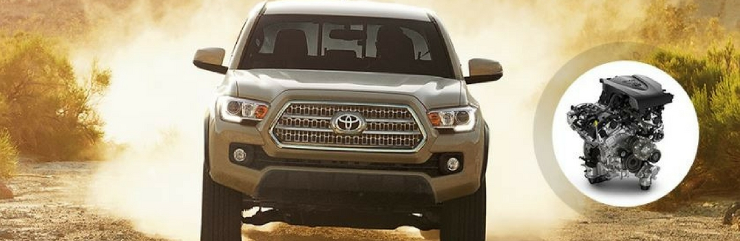 What Engines are Available for the 2017 Toyota Tacoma?
