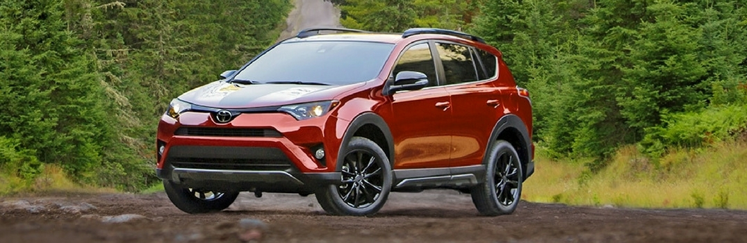 What's the Difference Between the Toyota RAV4 and RAV4 Adventure?