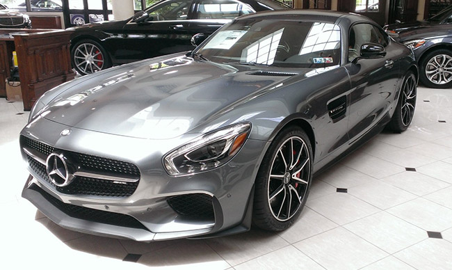 The mercedes amg gt s is here for Mercedes benz service doylestown
