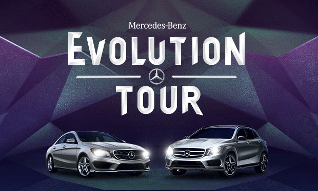 The 2015 mercedes benz evolution tour keenan motors for Mercedes benz of south atlanta service coupons
