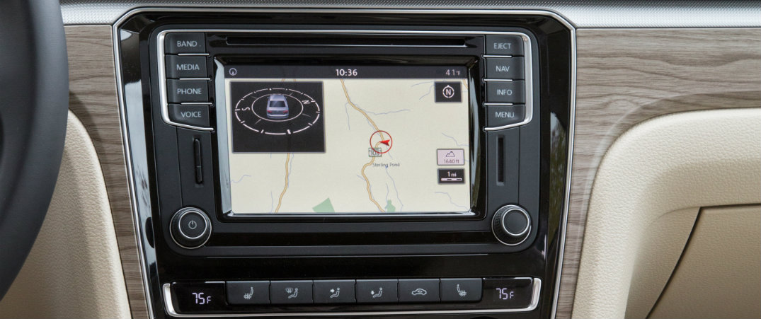 How to use 2016 VW navigation system
