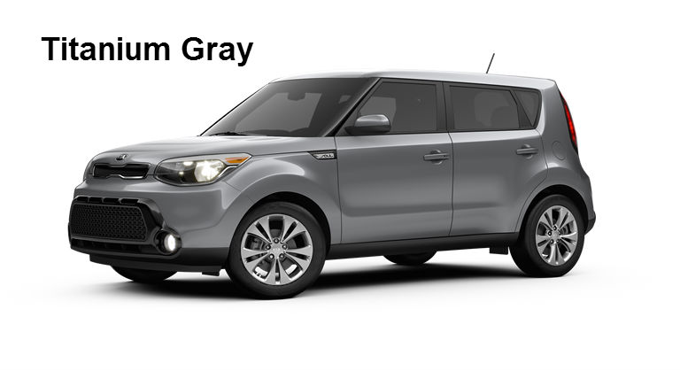 2016 Kia Soul Exterior And Interior Color Options