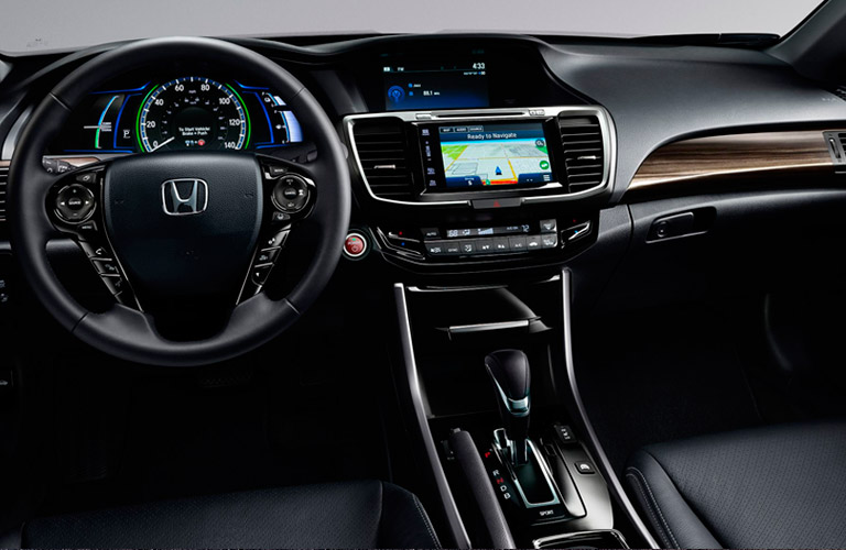 2017 Honda Accord Hybrid Interior