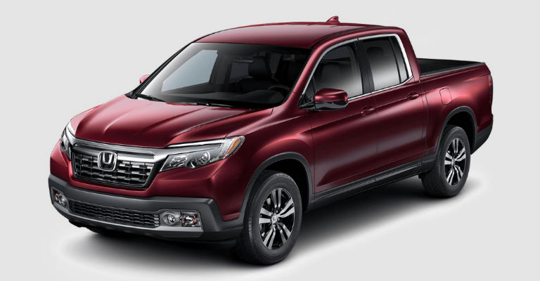 2017 Honda Ridgeline Paint Color Choices