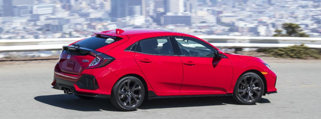 2017 Honda Civic Hatchback LX vs Sport