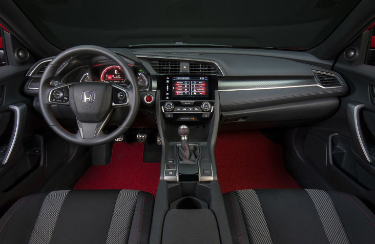 Captivating Civic Si Interior